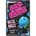 Pop Rocks Blue Raspberry, 0.66 oz. Packs, 24 Packs/Box