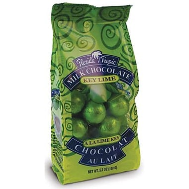 Florida Tropics Milk Chocolate Mini Foiled Key Lime Balls, 5.3 oz. Bag