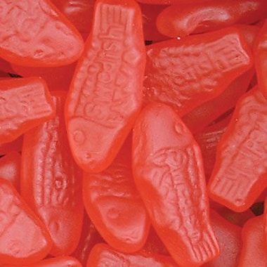 Mini Red Swedish Fish, 5 lb. Bulk