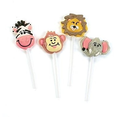 Jungle Safari Lollipops, 12 Lollipops/Box