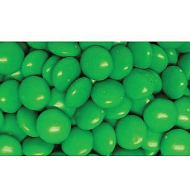 Milk Chocolate Dark Green Gems, 5 lb. Bulk
