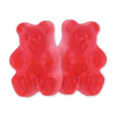 Watermelon Gummi Bears, 5 lb. Bulk
