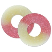 Strawberry-Banana Gummi Rings, 4.5 lb. Bulk