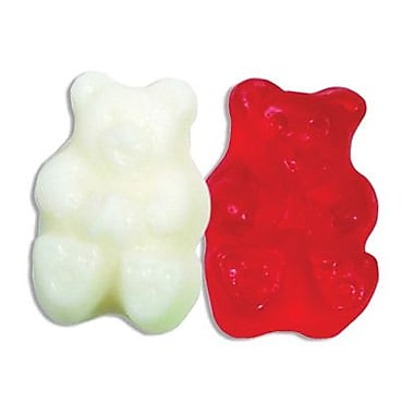 Gummi Bears Red & White, 5 lb. Bulk
