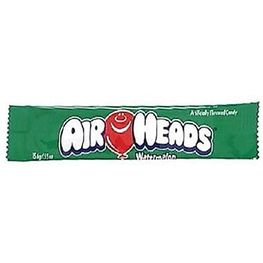 Airheads Watermelon Bar, 0.55 oz. Bar, 36 Bars/Box
