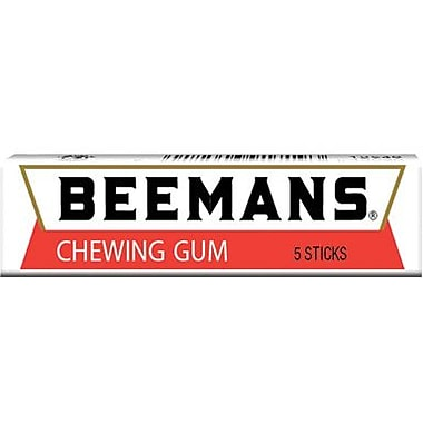 Beemans 5 Stick Gum, 20 Packs/Box