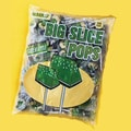 Big Slice Apple Pops, 48 Lollipops/Bag