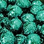 Birnn Dark Chocolate Truffles, Green Foil, 1 lb.