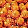 Birnn Dark Chocolate Orange Truffles, Orange Foil, 1
