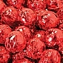 Birnn Milk Chocolate Truffles, Red Foil, 1 lb.