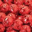 Birnn Milk Chocolate Truffles, Red Foil, 1 lb. Bulk