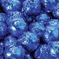 Birnn Milk Chocolate Hazelnut Truffles, Blue Foil, 1 lb. Bulk