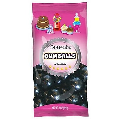 Black Gumballs, 8 oz. Bag