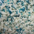 Blue and White Candy Crush Raspberry, 5 lb. Bulk