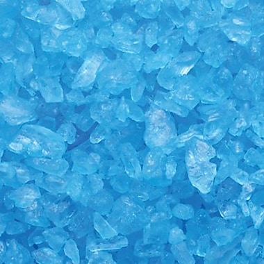Blue Raspberry Rock Candy Crystals, 4lb. Bulk