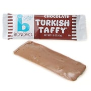 Bonomo Taffy Chocolate, 1.5 oz. Bars, 24 Bars/Box