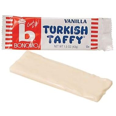 Bonomo Turkish Vanilla,1.5 oz. Bars, 24 Bars/Box