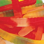 Gummi Worms Assorted, 5 lb. Bulk