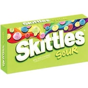 Skittles Sour Candy, 4 oz. Theater Box, 12 Boxes