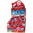 Cherry Ice Blow Pops, 48 Lollipops/Box