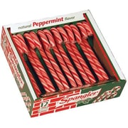 Spangler Red, White, Canes, 12 Pieces/Box, 3 Boxes