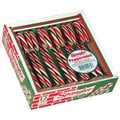 Spangler Red, Green, and White Candy Canes, 12 Canes/Pack, 3 Packs/Box