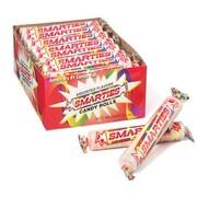 Mega Smarties Rolls, 2.25 oz. Rolls, 24 Rolls/Box