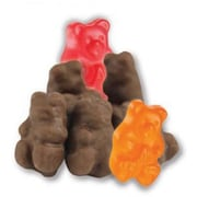 Milk Chocolate Covered Gummi Bears, 2.5 lb. Bulk