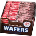 Necco Chocolate Wafer Rolls, 2.02 oz. Rolls, 24 Rolls/Box