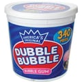 Dubble Bubble Gum, 340 Pieces/Tub