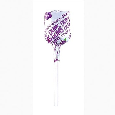 Dum Dum Grape Lollipops, 1 lb. Tub