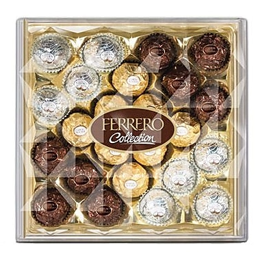 Ferrero Collection Diamond Gift Box, 8.8 oz. Box
