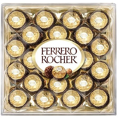 Ferrero Rocher Diamond Gift Box, 10.6 oz. Box