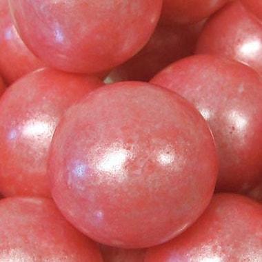 Bright Pink Shimmer Gumballs, 3 lb. Bulk