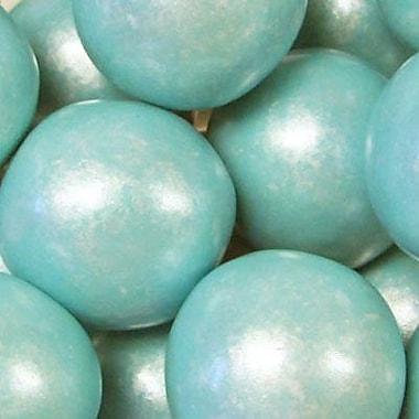 Powder Blue Shimmer Gumballs, 3 lb. Bulk