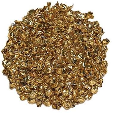 Gold Wrapped Mint Hard Candies, 5 lb. Bulk