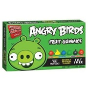 Angry Birds Gummy Candy - Green, 3.5 oz. Theater Box., 12 Boxes