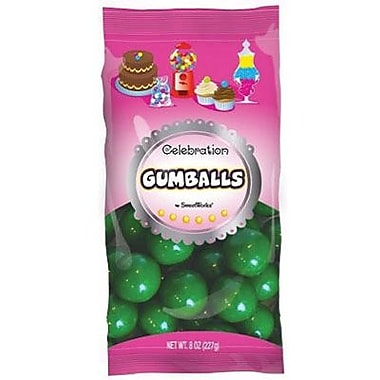 Green Gumballs, 8 oz. Bag