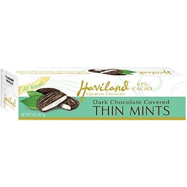 Haviland All Natural Thin Mints, 3.5 oz. Box, 12 Boxes