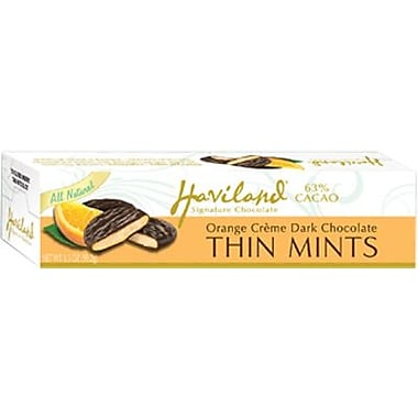 Haviland All Natural Orange Thin Mints, 3.5 oz. Box, 12 Boxes