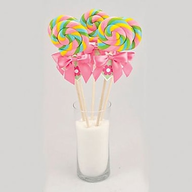 Swirl Lollipop, 2 oz. 24 Lollipops/Box
