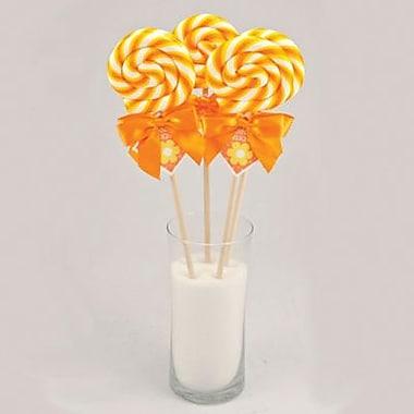Simply Orange Swirl Lollipop, 2 oz., 24 Lollipops/Box
