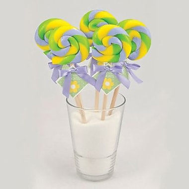Sour Grape Swirl Lollipop, 1 oz., 24 Lollipops/Box