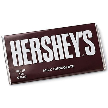 Hershey's Milk Chocolate, 5 lb. Bar
