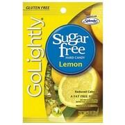 GoLightly Lemon Hard Candy, 2.75 oz. Peg Bag, 12 Peg Bags/Box