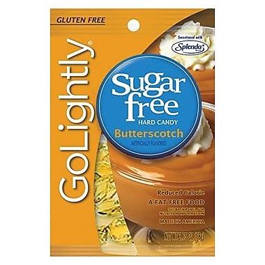 GoLightly Butterscotch Hard Candy, 2.75 oz. Peg Bag, 12 Peg Bags/Box