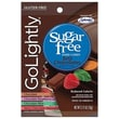 GoLightly Just Chocolates Hard Candy, 2.75 oz. Peg Bag, 12 Peg Bags/Box