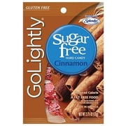 GoLightly Cinnamon Hard Candy, 2.75 oz. Peg Bag, 12 Peg Bags/Box