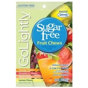 GoLightly Fruit Hard Candy, 2.75 oz. Peg Bag, 12 Peg Bags/Box