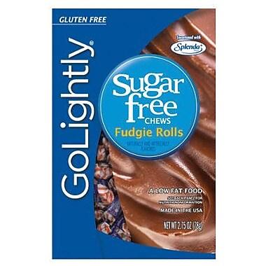 GoLightly Fudgie Hard Candy, 2.75 oz. Peg Bag, 12 Peg Bags/Box